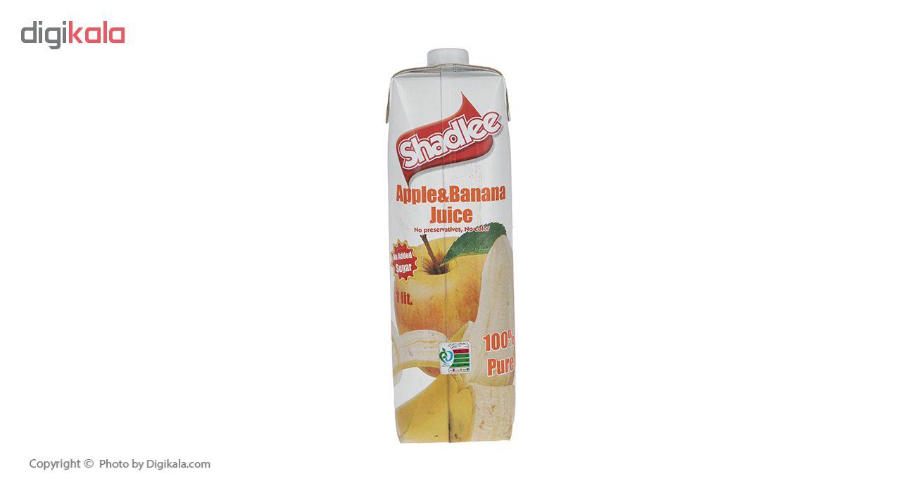 مخلوط آب سیب و موز شادلی حجم 1 لیتر main 1 2