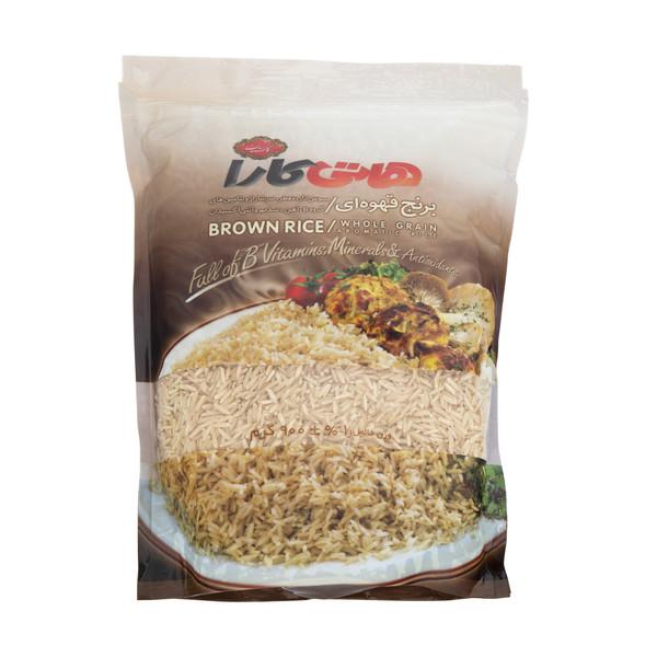 برنج قهوه ای هاتی کارا وزن 900 گرم