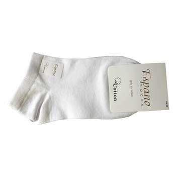 جوراب زنانه اسپانو کد 06 رنگ سفید  