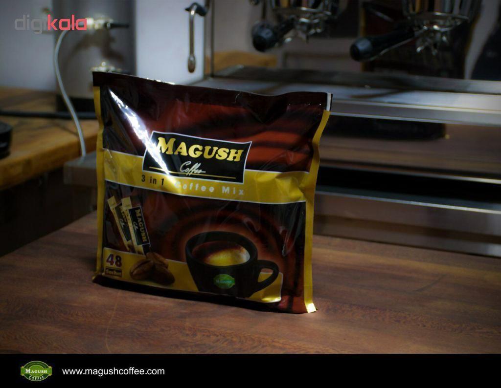پودر مخلوط قهوه فوری ماگوش بسته 48 عددی main 1 2