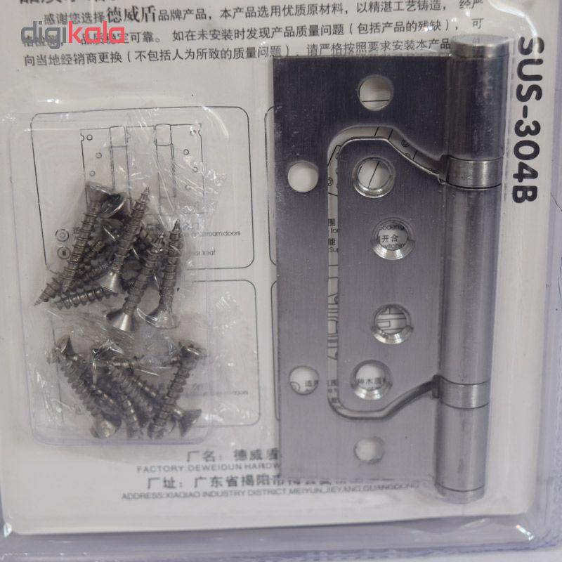 لولا درب و پنجره دویدون مدل SUS-304B کد 1635174 بسته 2 عددی