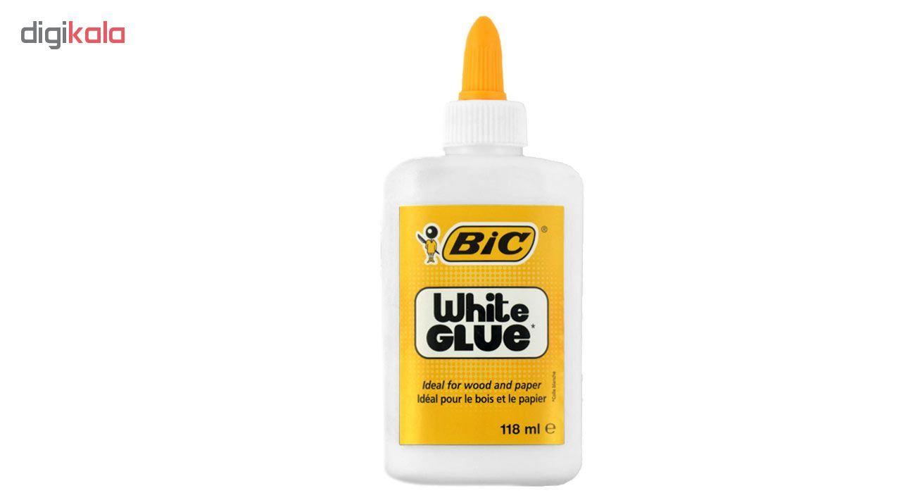 چسب همه کاره بیک مدل White Giue