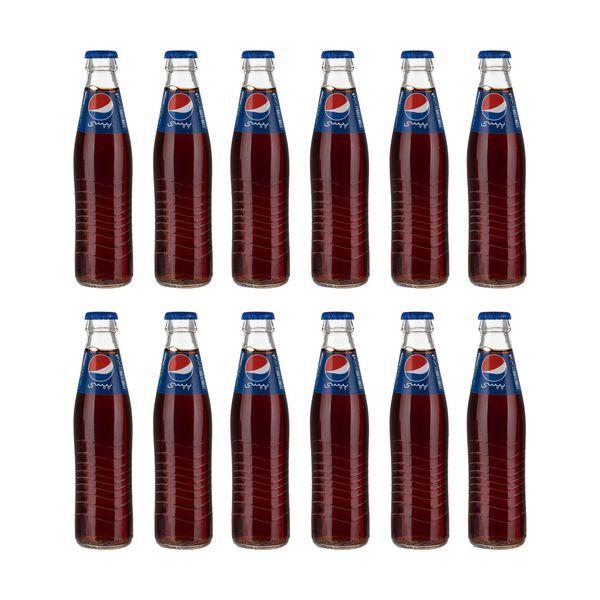 نوشابه گازدار پپسی - 250 میلی لیتر بسته 12 عددی