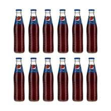 نوشابه گازدار پپسی مقدار 250 میلی لیتر بسته 12 عددی