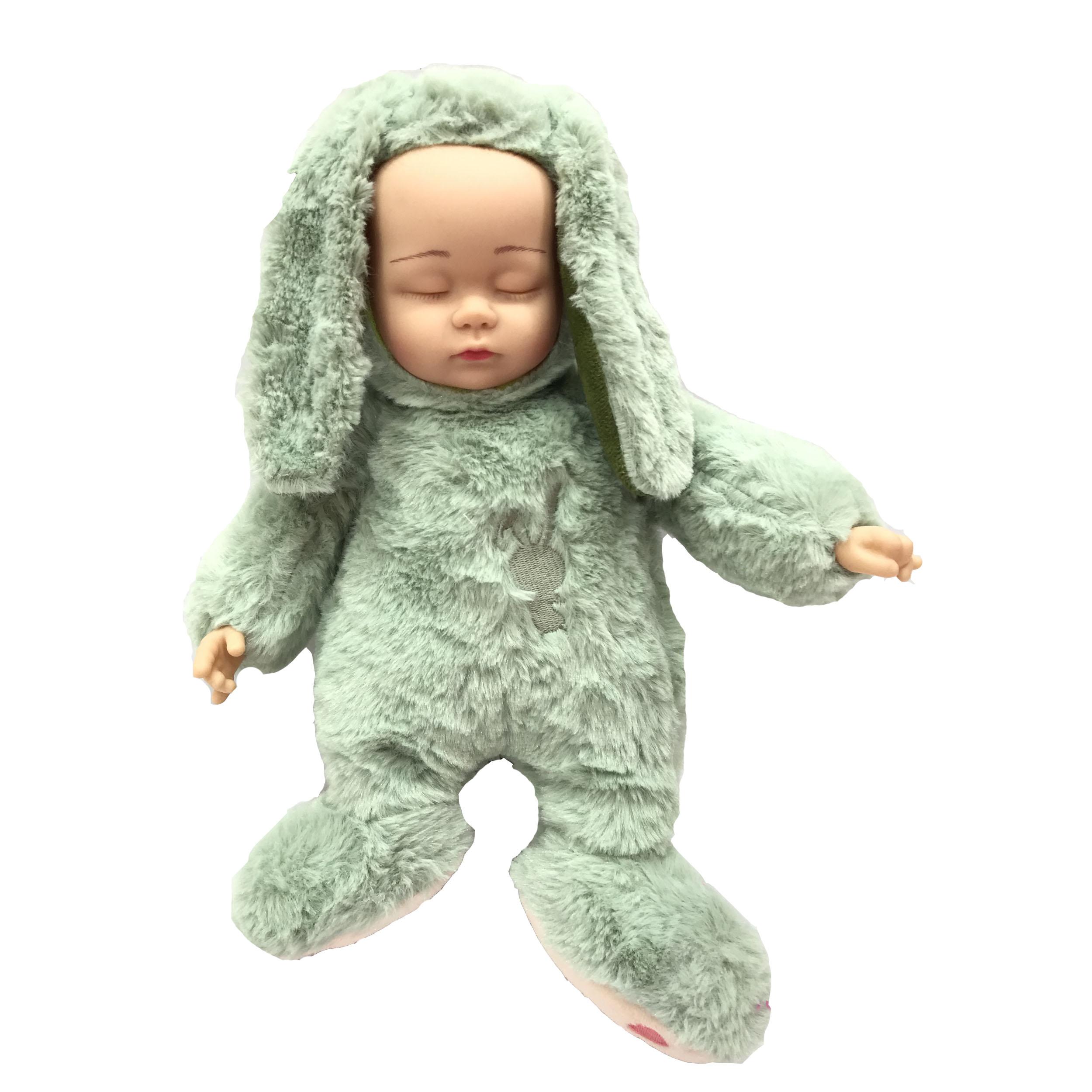 عروسک نوزاد خواب سایز XL ارتفاع 35 سانتی متر