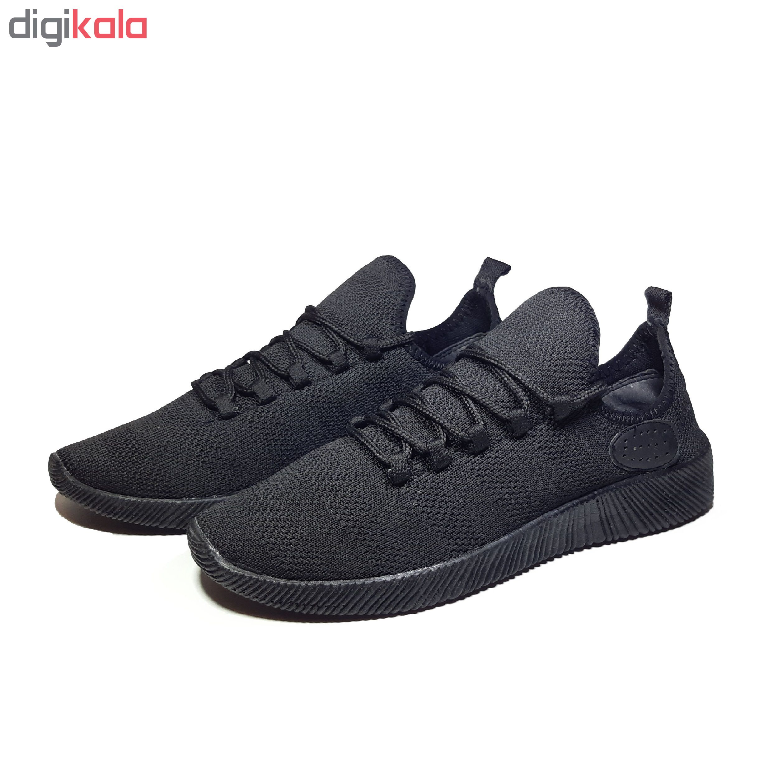 کفش مخصوص پیاده روی زنانه مدل Dharma Black W