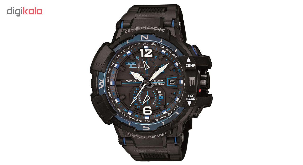 خرید ساعت مچی عقربه ای مردانه کاسیو مدل GW-A1100FC-1ADR | ساعت مچی