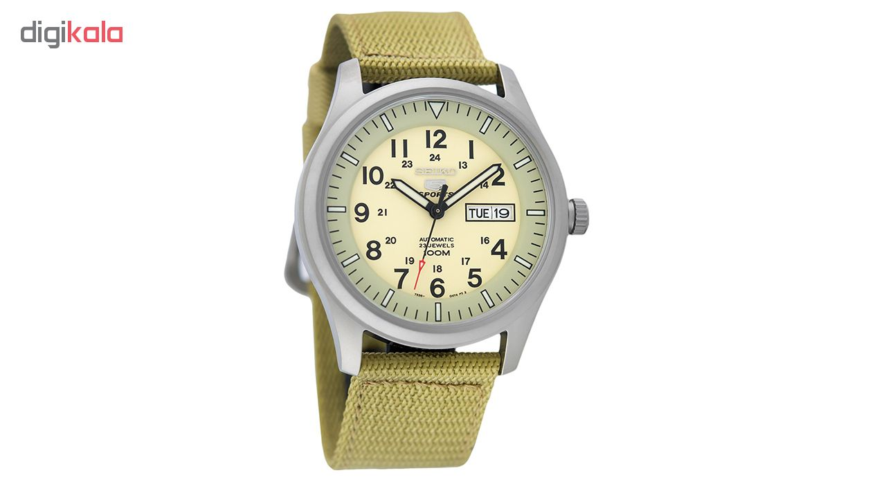 خرید ساعت مچی عقربه ای مردانه سیکو مدل SNZG07K1