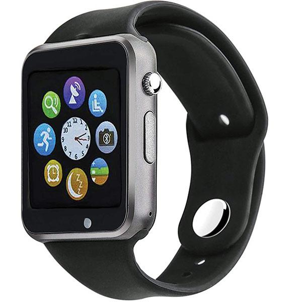 خرید ساعت هوشمند جی تب مدل W101  همراه محافظ صفحه نمایش شیدتگ