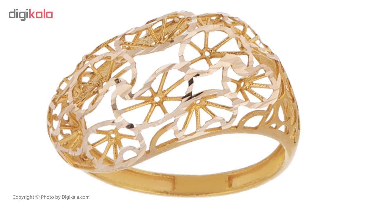 انگشتر طلا 18 عیار زنانه مدل AT5