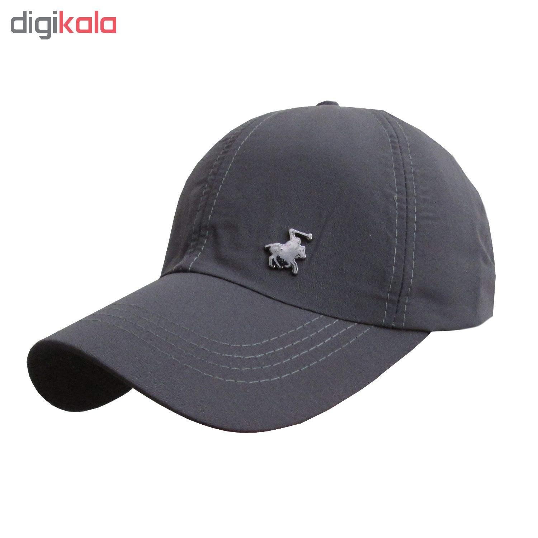 کلاه کپ مردانه مدل PL-01 کد 202 رنگ آبی main 1 8