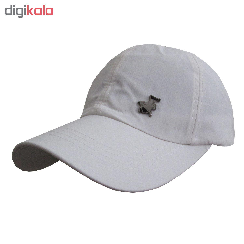 کلاه کپ مردانه مدل PL-01 کد 202 رنگ آبی main 1 3