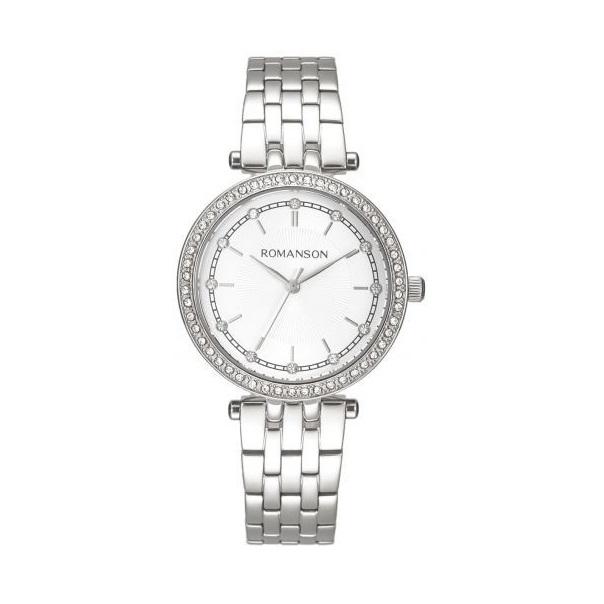 ساعت مچی عقربه ای زنانه رومانسون مدل RM8A17TLWWAS2W