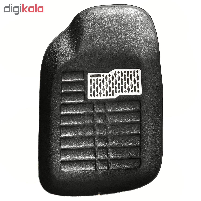 کفپوش سه بعدی ( پلی اورتان ) خودرو مناسب برای پژو 206 main 1 3