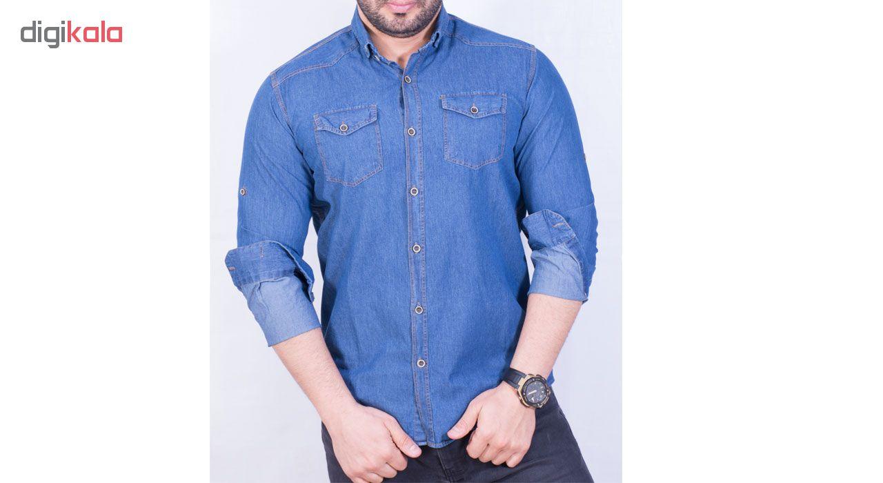 پیراهن مردانه سیمپل ورز مدل JJ