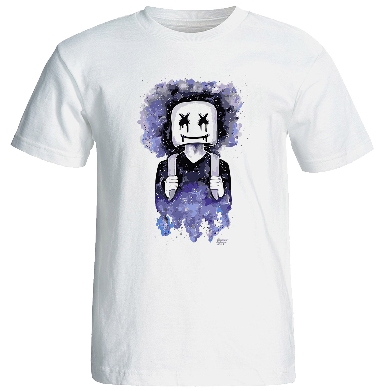 تی شرت مردانه طرح مارشملو  کد 17275