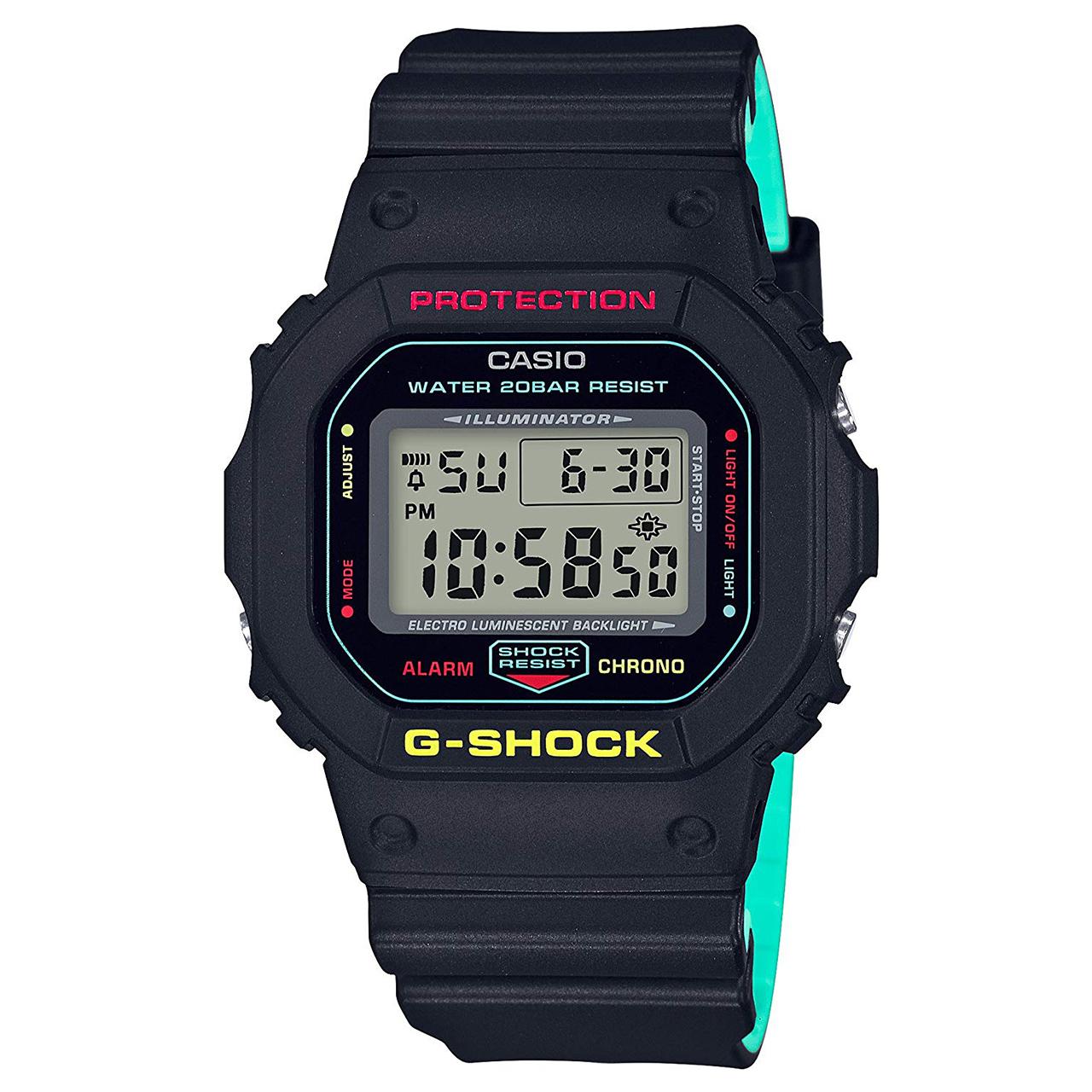 کد تخفیف                                      ساعت مچی دیجیتال مردانه کاسیو مدل DW-5600CMB-1DR