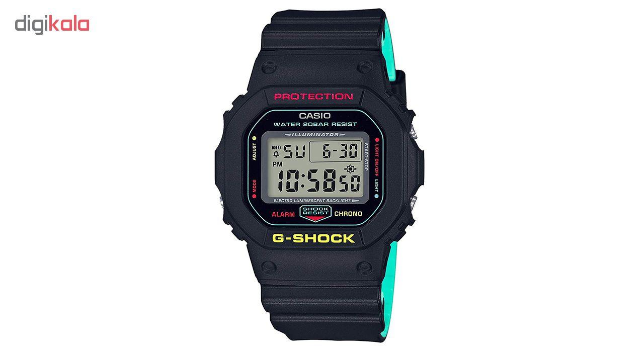 خرید ساعت مچی دیجیتال مردانه کاسیو مدل DW-5600CMB-1DR | ساعت مچی