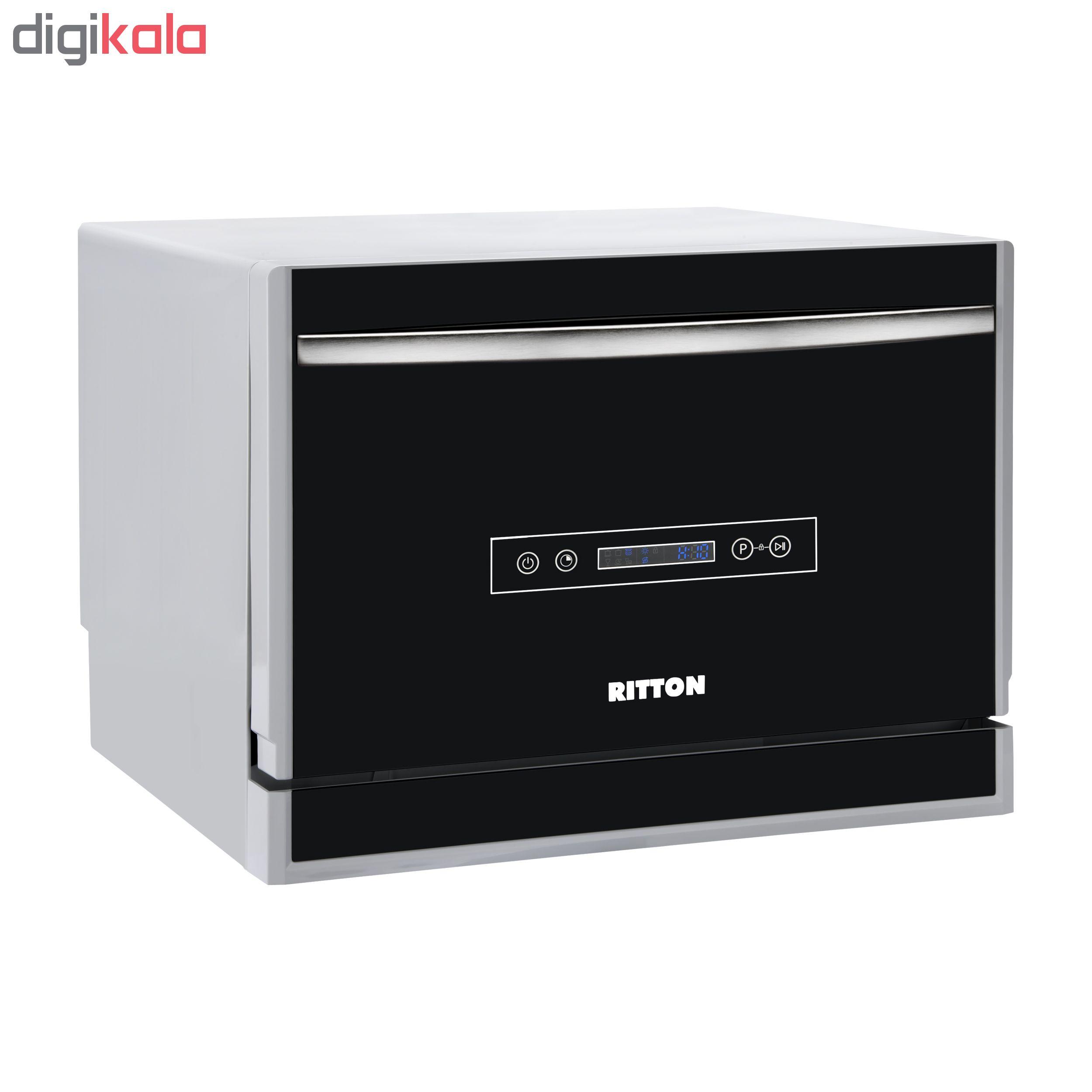 ماشین ظرفشویی رومیزی ریتون مدل GOLDEN TOUCH