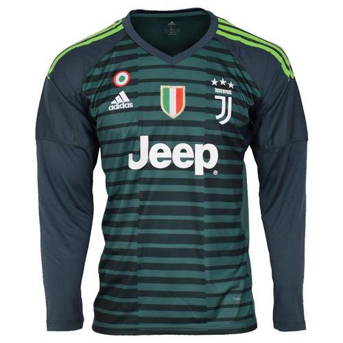 پیراهن ورزشی مردانه طرح یوونتوس کد goalkeeper18/19 رنگ سبز
