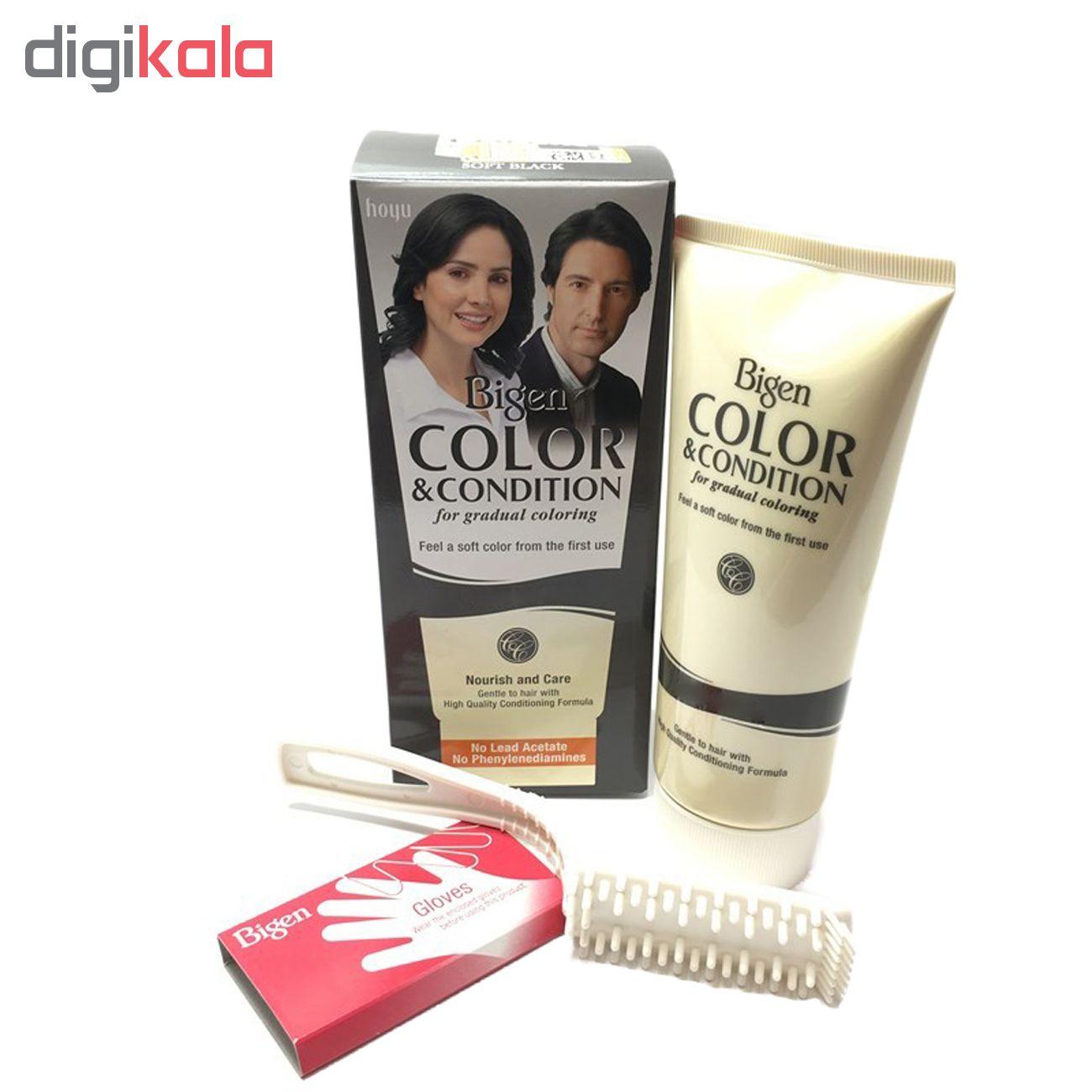 کیت رنگ مو بیگن سری Color and Condition شماره 9-1 حجم 180 میلیلیتر رنگ خاکستری دودی