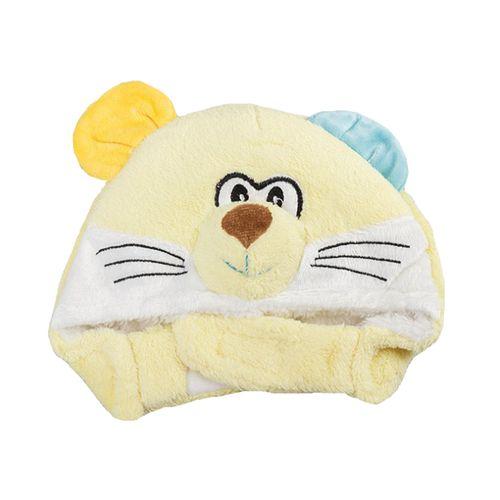 کلاه نوزادی کد 2019 رنگ زرد