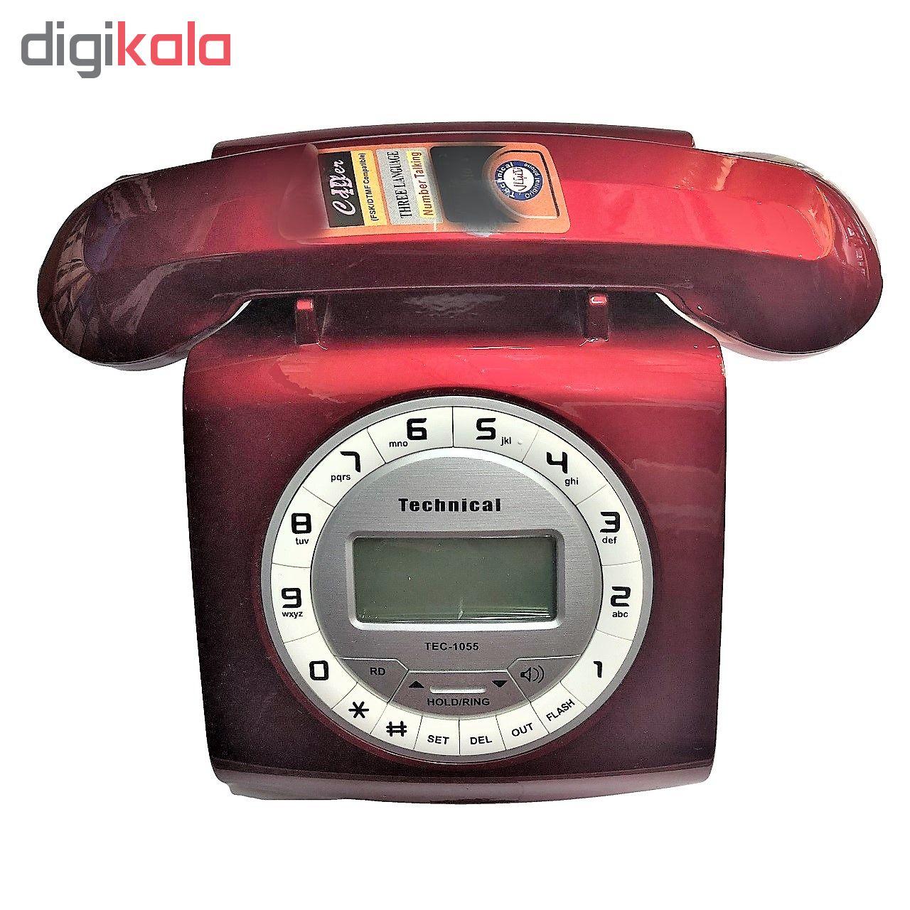 تلفن تکنیکال مدل TEC-1055