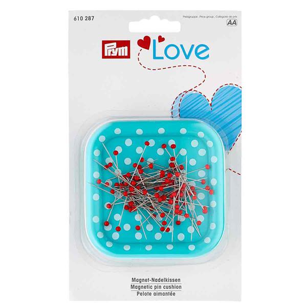 جاسوزنی پریم مدل LOVE کد 610287 به همراه سوزن ته گرد