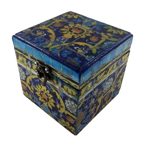 جعبه هدیه چوبی کد 01