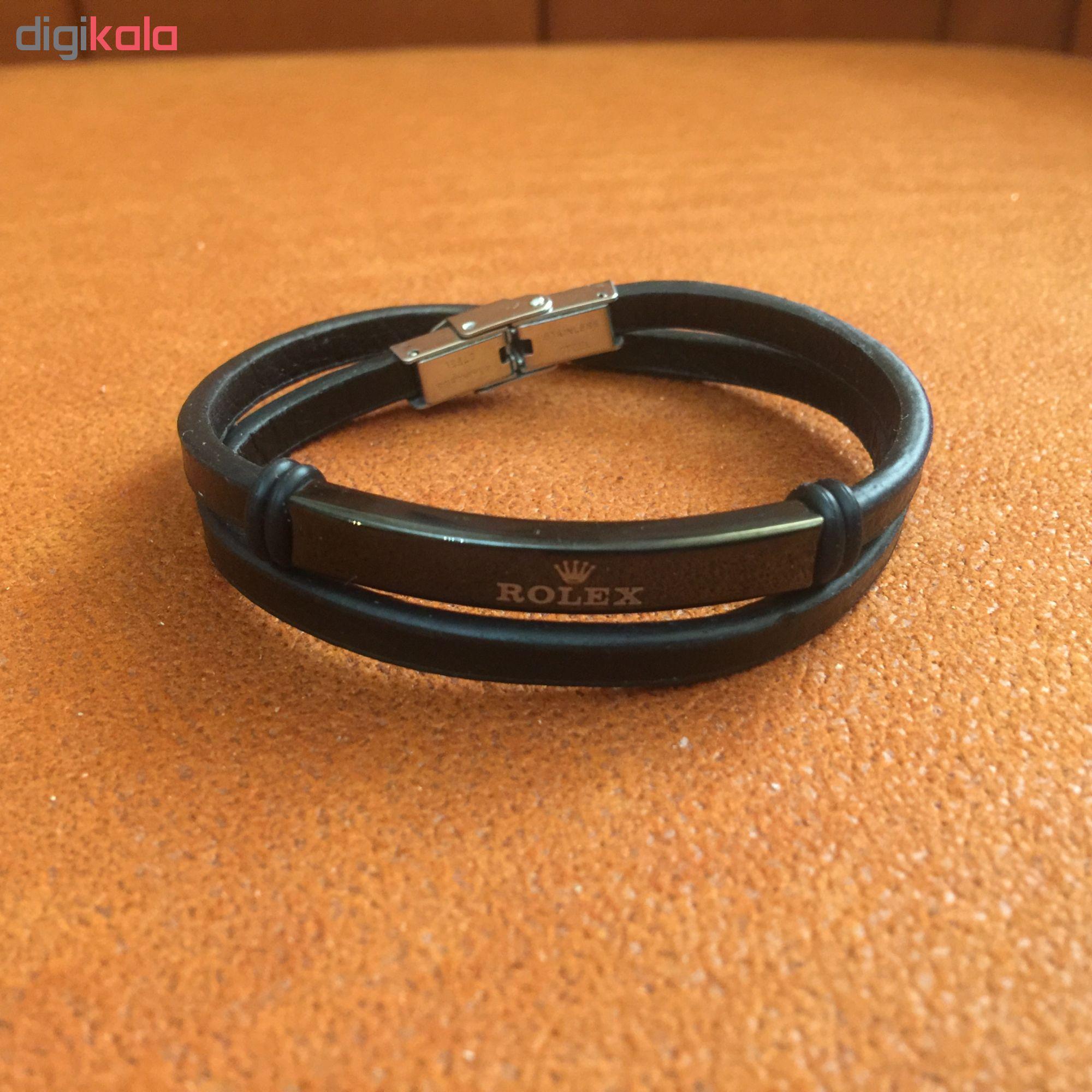 دستبند مردانه کد 225
