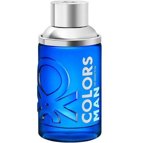 ادو تویلت مردانه بنتون مدل Colors Man Blue حجم 100 میلی لیتر