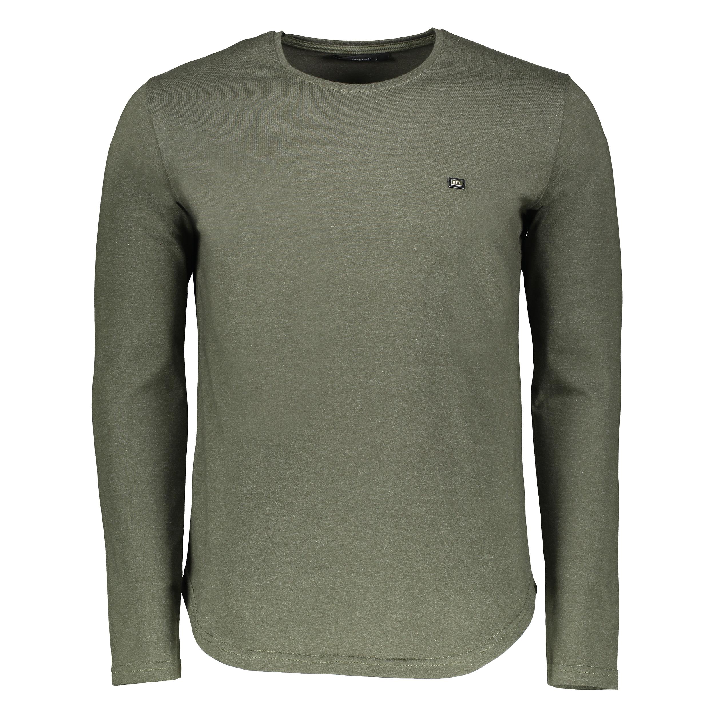 تی شرت آستین بلند مردانه بای نت کد 303-4 btt