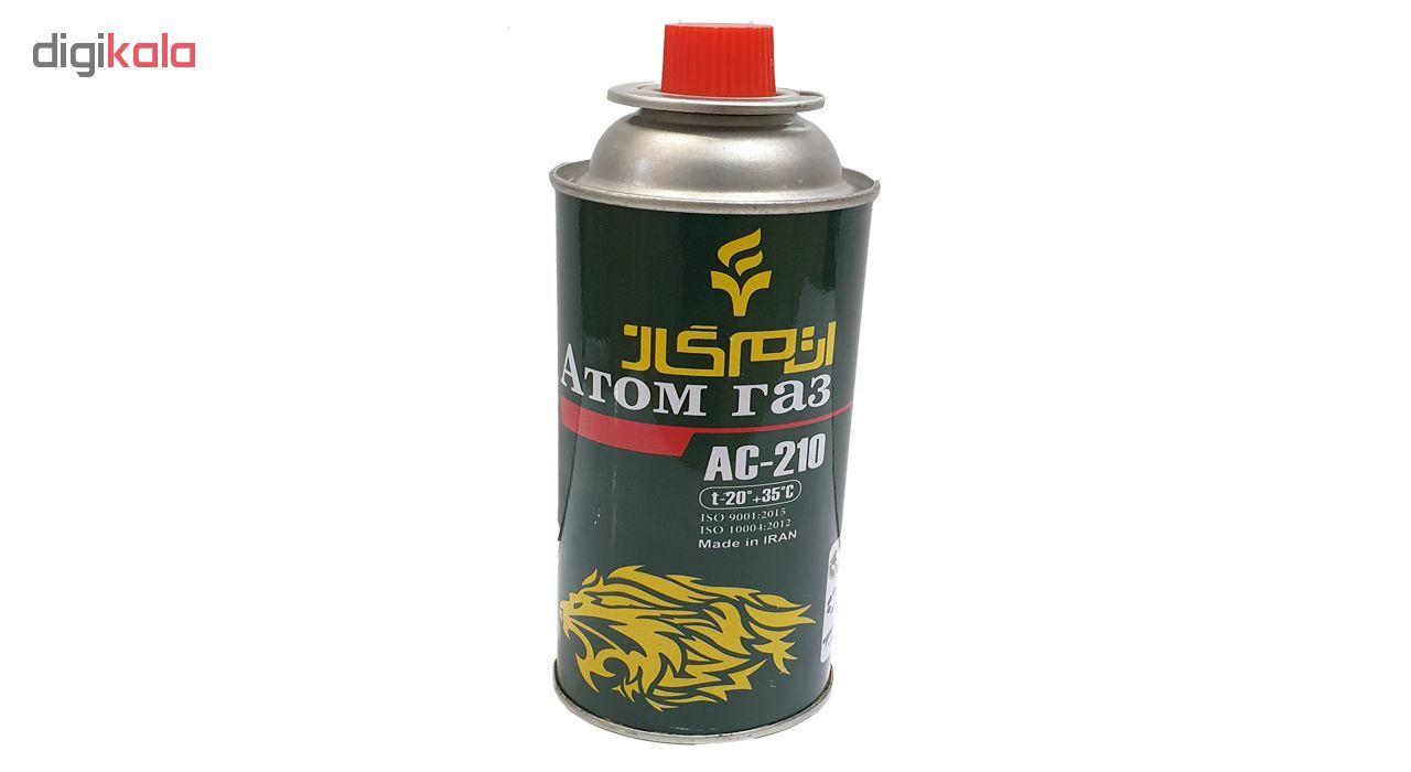 کپسول گاز اتم گاز مدل S50 حجم 220 گرم بسته 4 عددی main 1 1