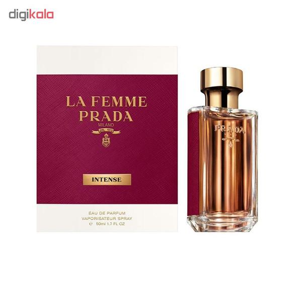 ادو پرفیوم زنانه پرادا مدل La Femme Intense حجم 50 میلی لیتر