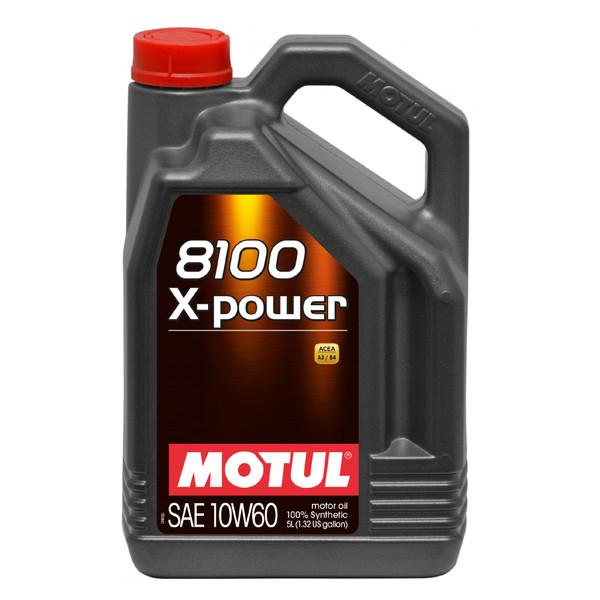 روغن موتور خودرو موتول مدل X-Power 8100 حجم 5000 میلی لیتر