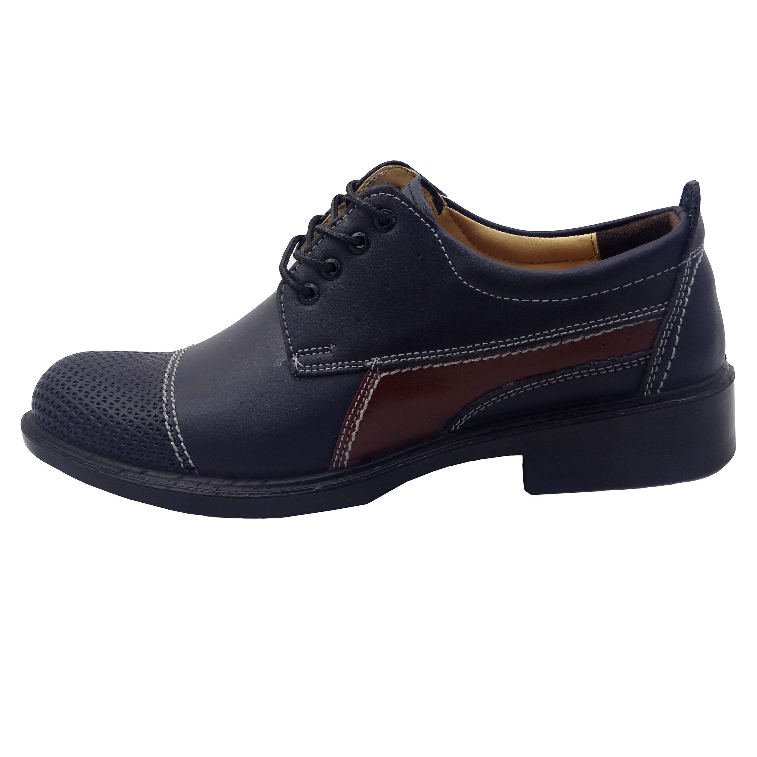 کفش چرم مردانه کد B12