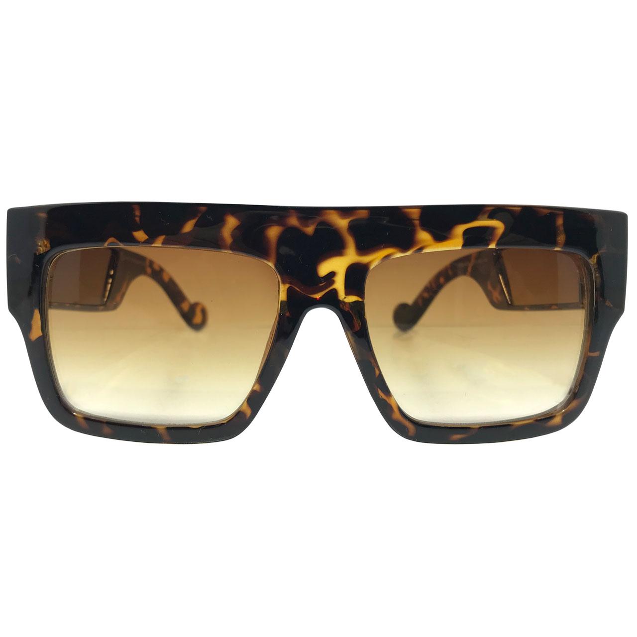 عکس عینک آفتابی زنانه مدل 2337 به همراه جاسوییچی چرم طبیعی طرح کفش هدیه
