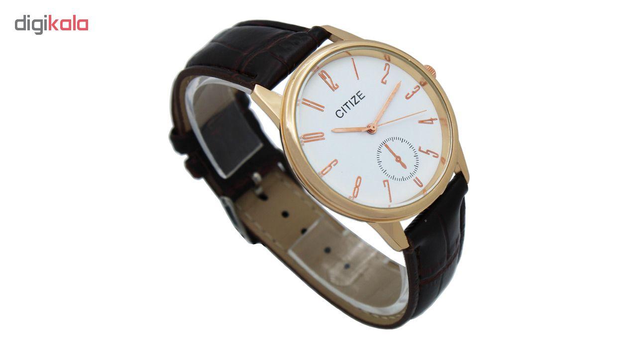 خرید ساعت مچی عقربه ای مردانه سیتیز کد MWMU-0219