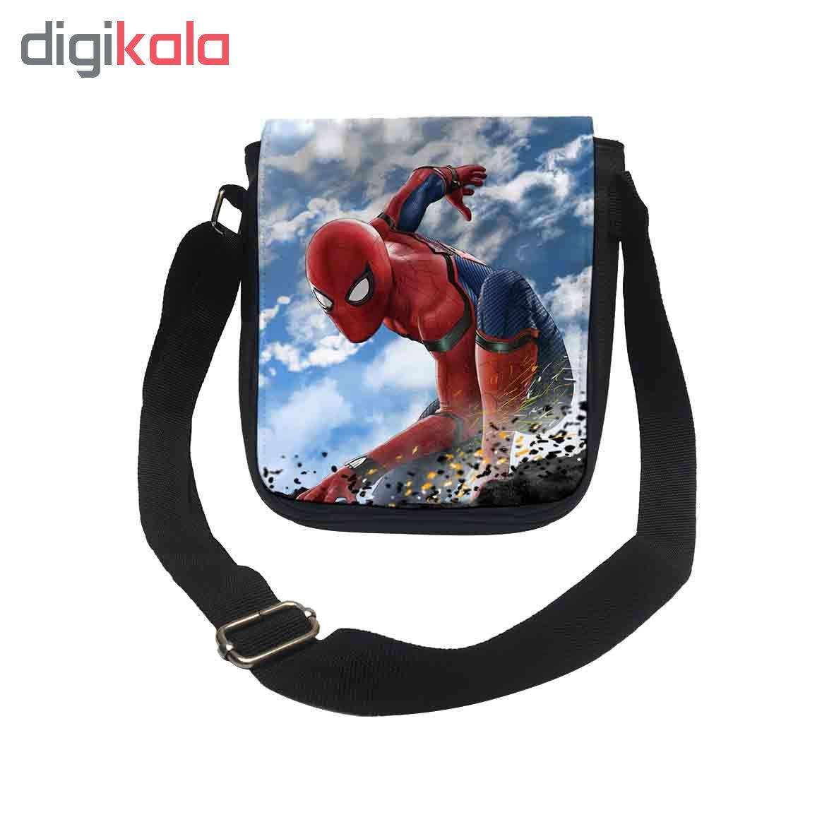 کیف دوشی طرح مرد عنکبوتی کد k168