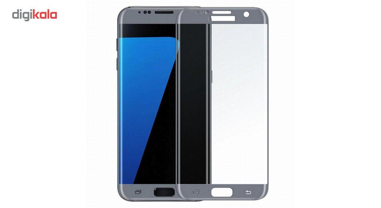 محافظ صفحه نمایش شیشه ای تمپرد مدل Full Cover مناسب برای گوشی موبایل سامسونگ Galaxy S7 Edge main 1 1