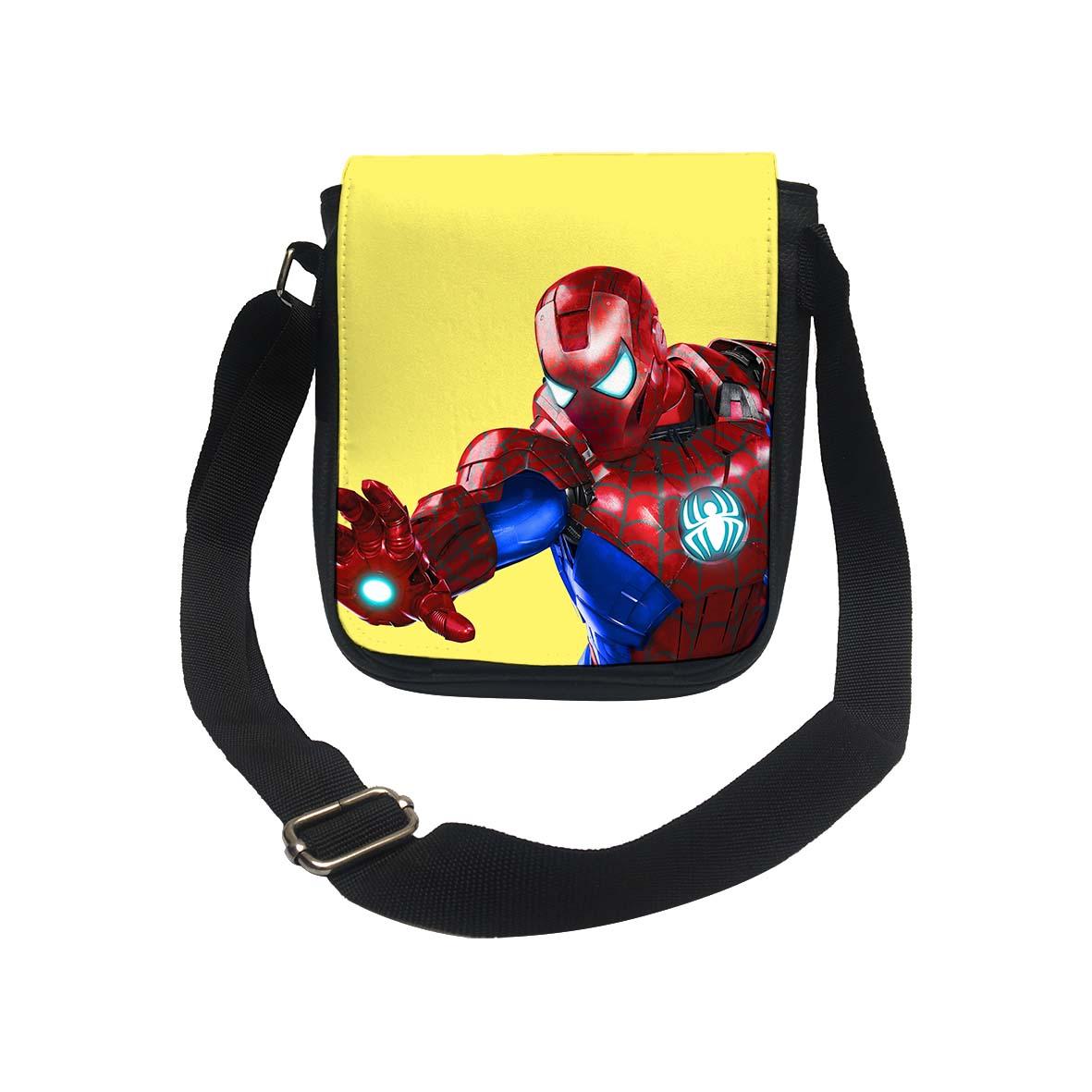 عکس کیف دوشی طرح مرد عنکبوتی کد k175
