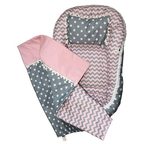 سرویس خواب 3 تکه نوزادی کودک بان مدل Star کد 3