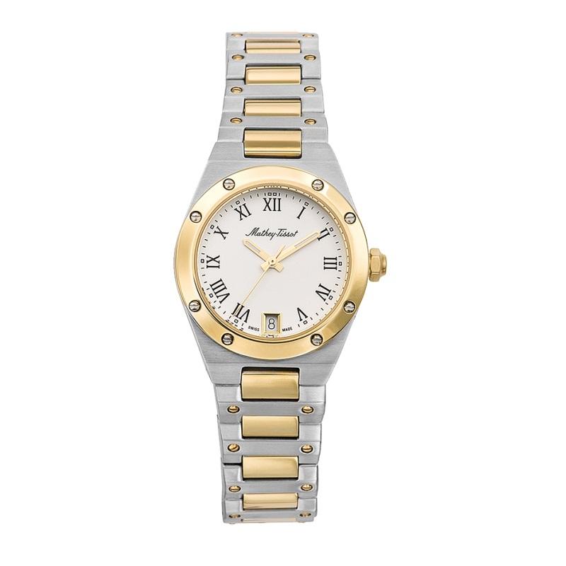 ساعت مچی عقربه ای زنانه متی تیسوت مدل D680BBR
