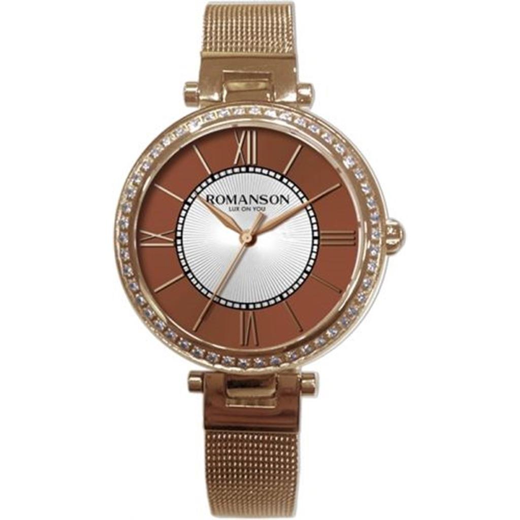 ساعت مچی عقربه ای زنانه رومانسون مدل RM8A20TLRRAB6R