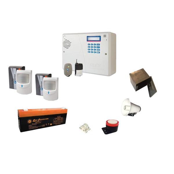 سیستم دزدگیر سیم کارتی سایلکس مدل SP408
