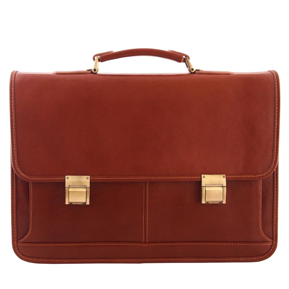 کیف اداری مردانه آدین چرم مدل DL50