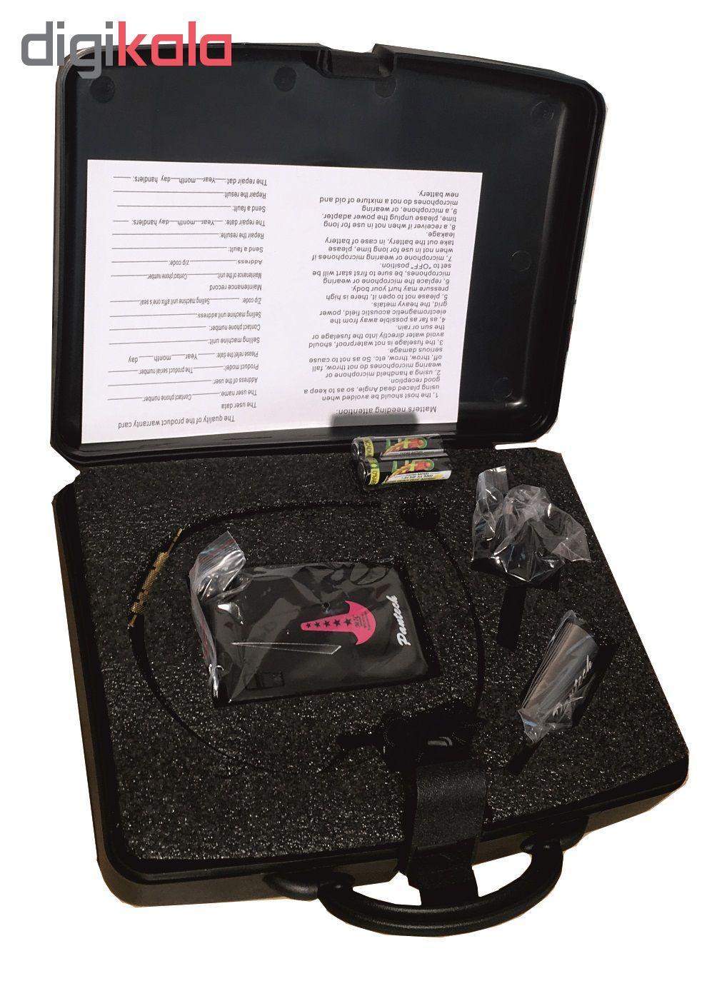 میکروفن بی سیم یقه ای هدستی پنتک مدل W8 main 1 2
