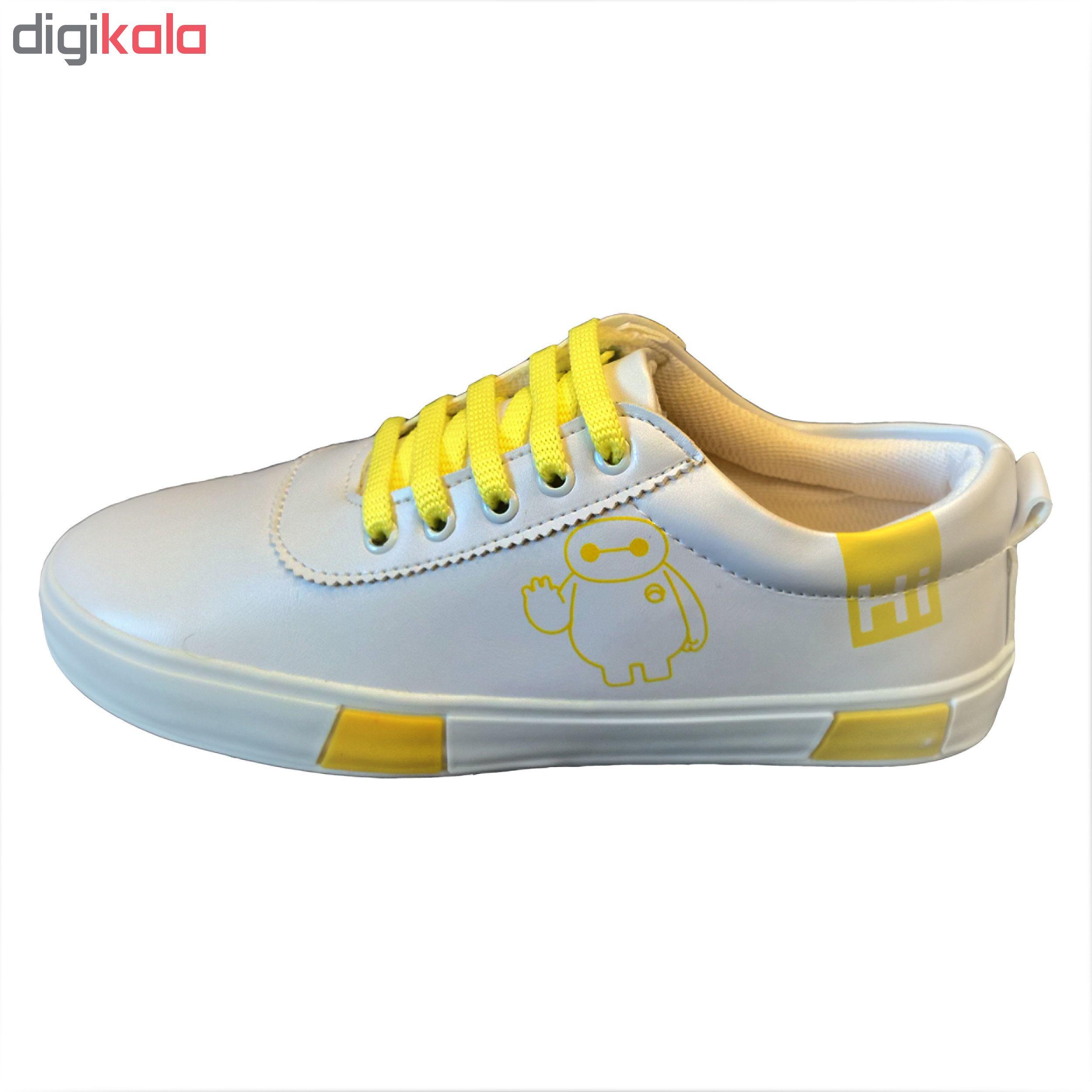 کفش راحتی زنانه مدل BAYMAX کد 001