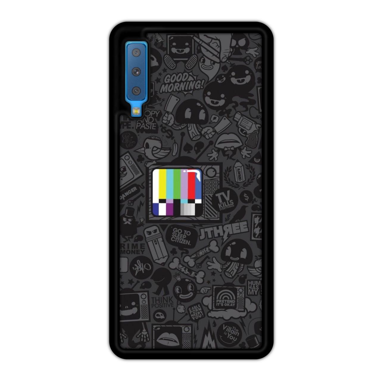 کاور آکام مدل Aa70078 مناسب برای گوشی موبایل سامسونگ Galaxy A7 2018