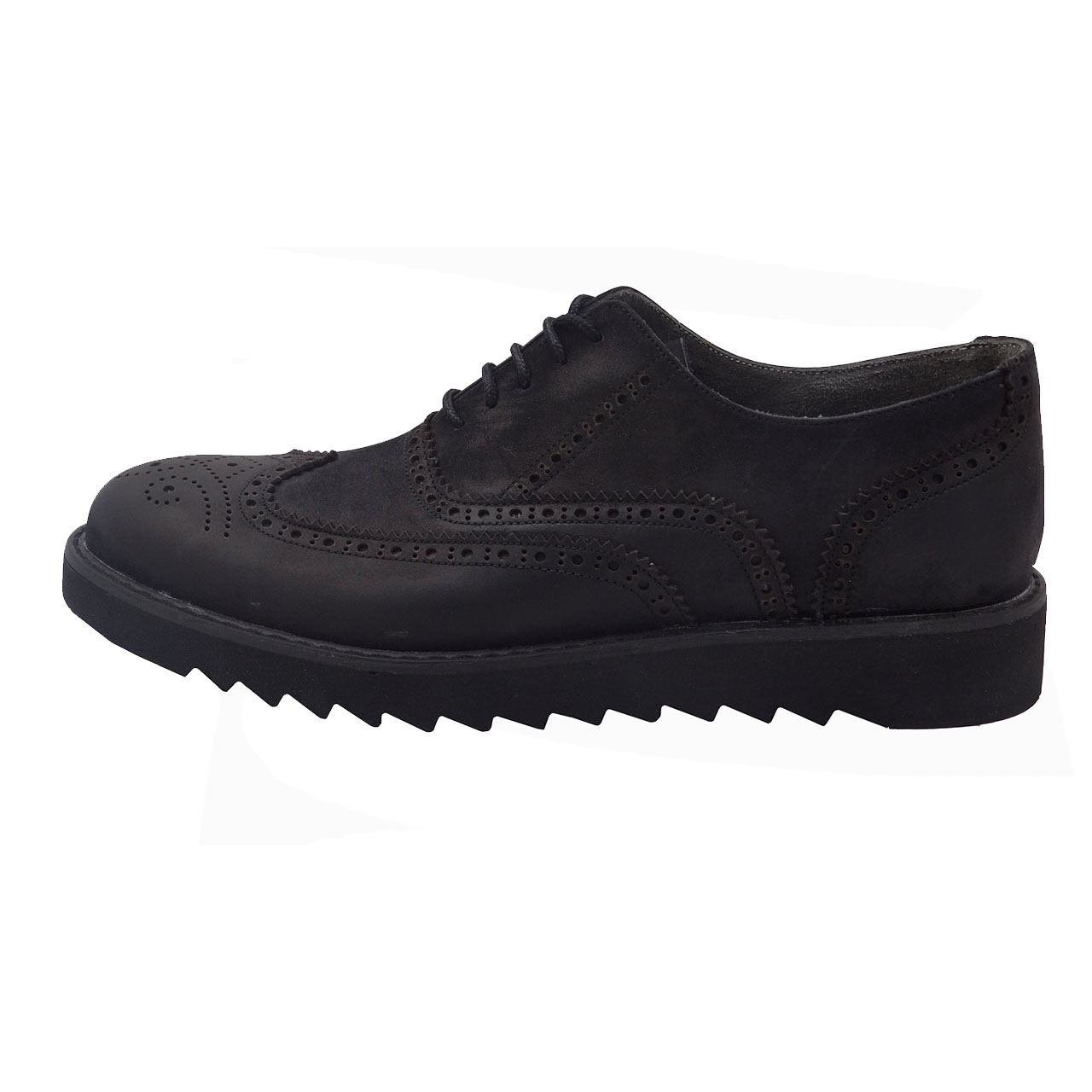 قیمت کفش  چرمی مردانه مدل هشترک کد B2